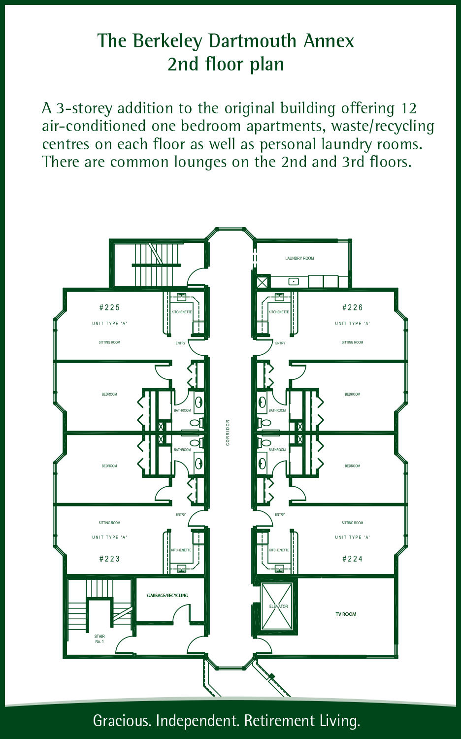 Long floorplan